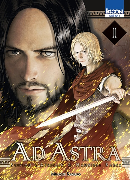 Couverture Ad Astra, Scipion l'africain & Hanibal Barca, tome 01
