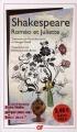 Couverture Roméo et Juliette Editions Flammarion (GF) 2011