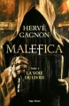 Couverture Malefica, tome 1 : La voie du livre Editions Hugo & cie 2014