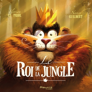 Couverture Le Roi de la jungle