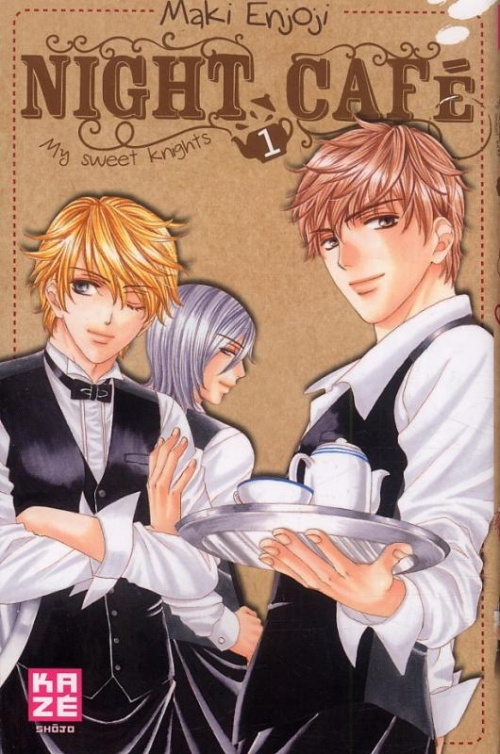 Couverture Night café - My sweet knights, tome 1