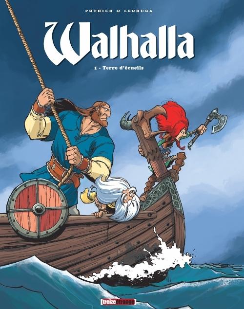 Couverture Walhalla, tome 1 : Terre d'écueils