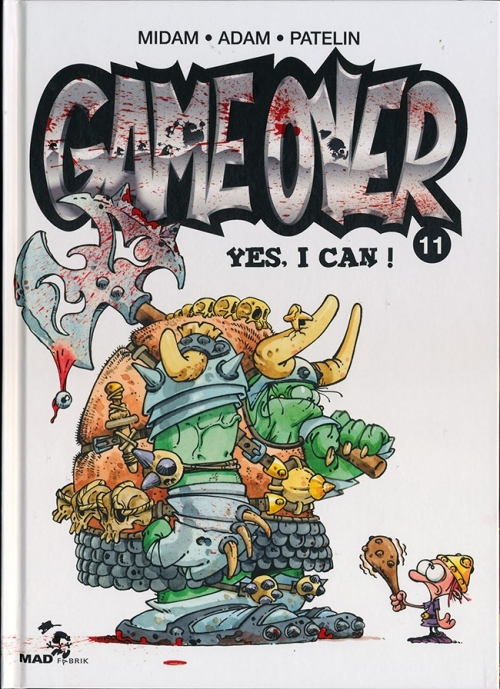 Couverture Game over, tome 11 : Yes, I can !