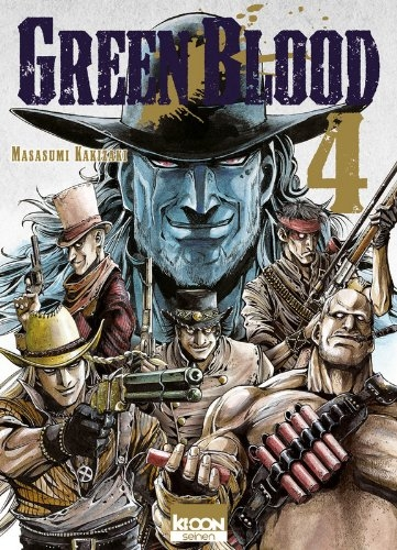 Couverture Green Blood, tome 4