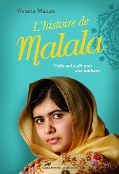 Couverture L'histoire de Malala