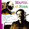 Couverture Martin et Rosa Editions Rue du Monde (Grands portraits) 2013