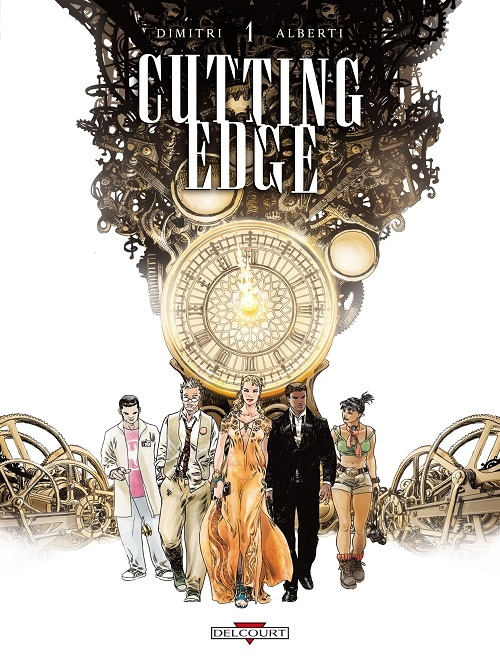 Couverture Cutting Edge, tome 1