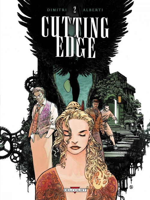 Couverture Cutting Edge, tome 2