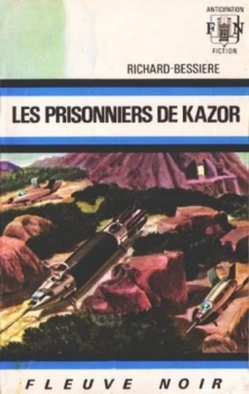 Couverture Dan Seymour, tome 5 : Les prisonniers de Kazor
