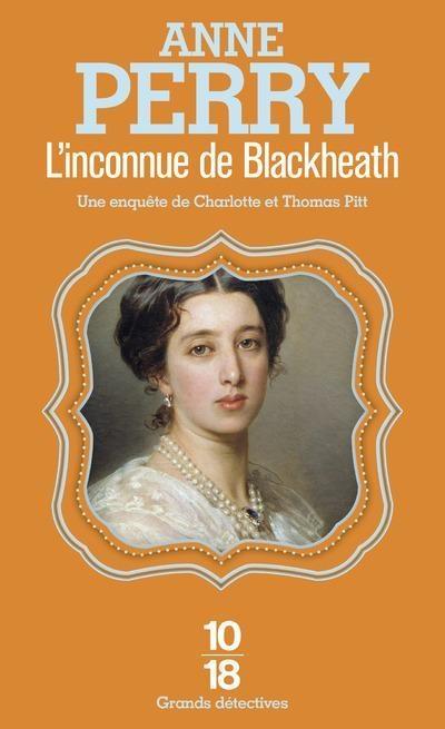 Couverture L'inconnue de Blackheath