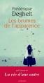 Couverture Les brumes de l'apparence Editions Actes Sud 2014