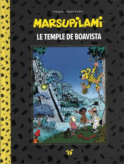 Couverture Marsupilami, tome 08 : Le temple de Boavista
