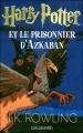 Couverture Harry Potter, tome 3 : Harry Potter et le prisonnier d'Azkaban Editions Gallimard  (Jeunesse) 2006
