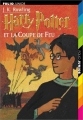 Couverture Harry Potter, tome 4 : Harry Potter et la coupe de feu Editions Folio  (Junior) 2002