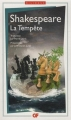 Couverture La tempête Editions Flammarion (GF - Bilingue) 2014