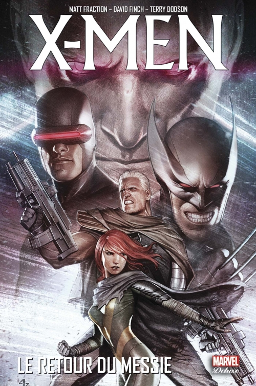 Couverture X-Men : Trilogie du Messie, tome 3 : Le Retour du Messie