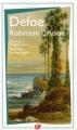 Couverture Robinson Crusoé Editions Flammarion (GF) 2010