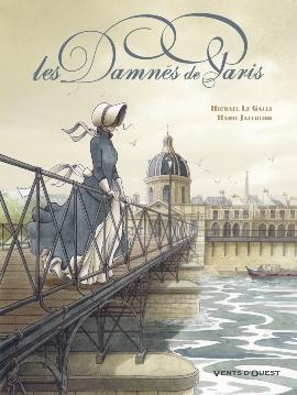 Couverture Les Damnés de Paris