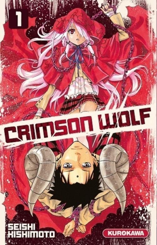 Couverture Crimson wolf, tome 1