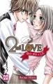 Couverture 2nd love : Once upon a lie, tome 3 Editions Kazé (Shôjo) 2014