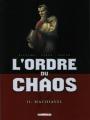 Couverture L'ordre du chaos, tome 2 : Machiavel Editions Delcourt (Machination) 2012