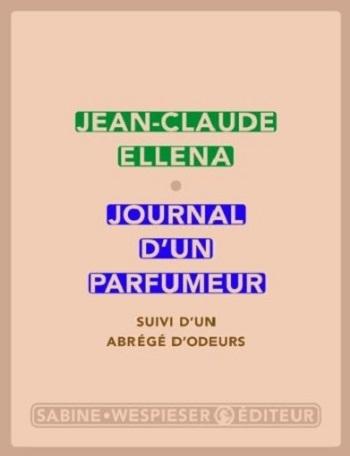 Couverture Journal d'un parfumeur