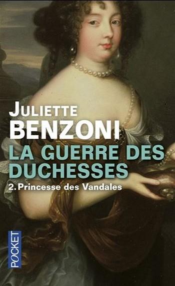 Couverture La guerre des duchesses, tome 2 : Princesse des Vandales