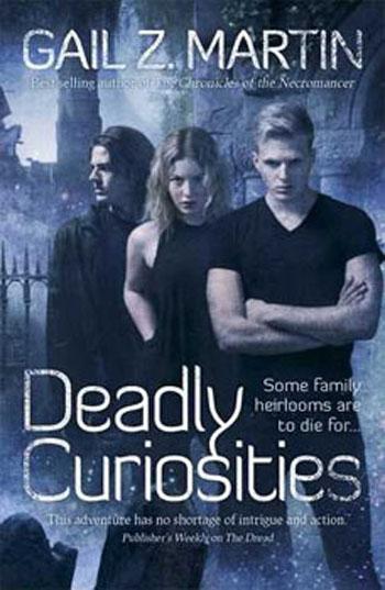 Couverture Deadly Curiosities, book 1