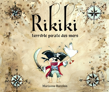 Couverture Rikiki, terrible pirate des mers