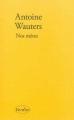 Couverture Nos mères Editions Verdier 2014