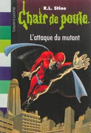 Couverture Le mutant masqué / L'attaque du mutant