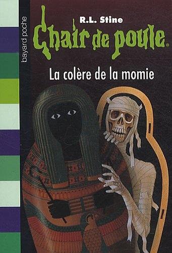 Couverture La colère de la momie