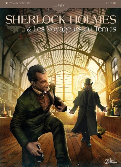 Couverture Sherlock Holmes & Les voyageurs du temps, tome 1 : La trame