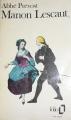 Couverture Histoire du chevalier Des Grieux et de Manon Lescaut / Manon Lescaut Editions Folio  1972