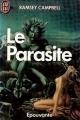 Couverture Le Parasite Editions J'ai Lu 1986