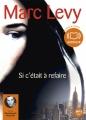 Couverture Si c'était à refaire Editions Audiolib 2012