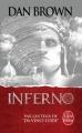 Couverture Robert Langdon, tome 4 : Inferno Editions Le Livre de Poche 2014