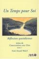 Couverture Un Temps pour Soi - Réflexions quotidiennes tirées de Conversation avec Dieu, tome 1 Editions AdA 2003