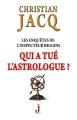 Couverture Les enquêtes de l'inspecteur Higgins, tome 09 : Qui a tué l'astrologue ? Editions J 2012