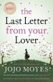 Couverture La dernière lettre de son amant Editions Hodder 2011