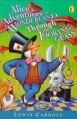 Couverture Alice au pays des merveilles, Alice à travers le miroir Editions Puffin Books 1997