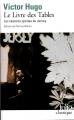 Couverture Le livre des tables Editions Folio  (Classique) 2014
