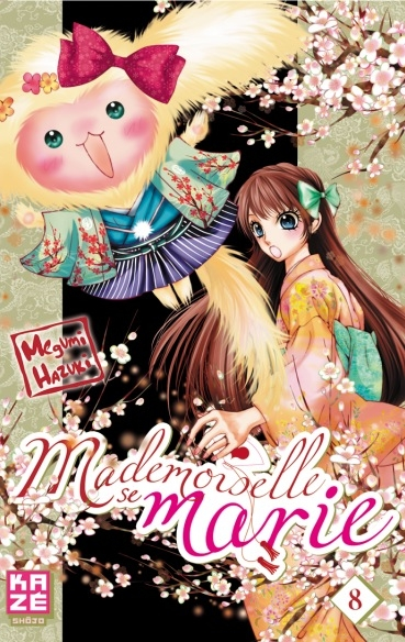Couverture Mademoiselle se marie, tome 08
