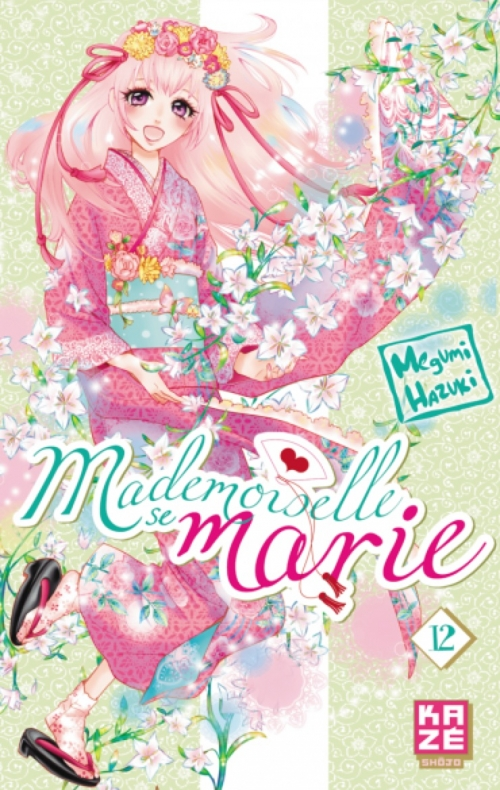 Couverture Mademoiselle se marie, tome 12