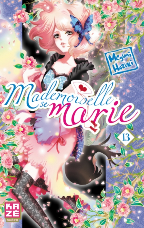 Couverture Mademoiselle se marie, tome 13