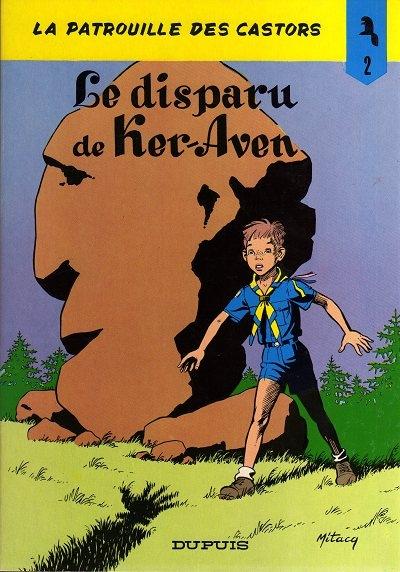 Couverture La patrouille des castors, tome 02 : Le disparu de Ker-Aven