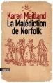 Couverture La malédiction de Norfolk Editions Sonatine 2014