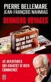 Couverture Derniers voyages Editions J'ai Lu (Document) 2014