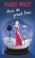 Couverture Avis de grand frais Editions Pocket 2013