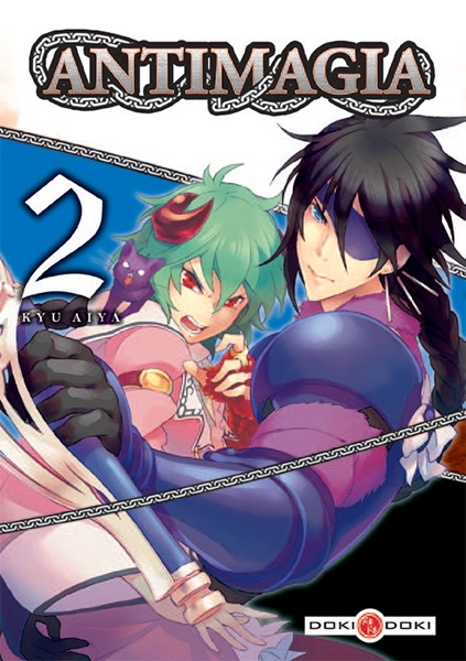 Couverture Antimagia, tome 2